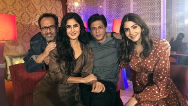 Shah Rukh Khan Finally Joins Katrina Kaif and Anushka Sharma for Zero Promotions - See Pic