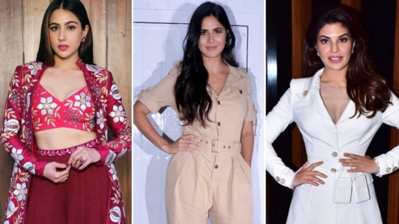 Sara Ali Khan, Katrina Kaif and Jacqueline Fernandez's Ravishing Style Statements Find a Place in Our Best-Dressed Category - View Pics