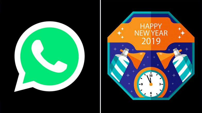 New Year 2019 WhatsApp Stickers: Know How You Can Turn Your Photos & Images to Stickers to Send Special Greetings to Your Loved Ones