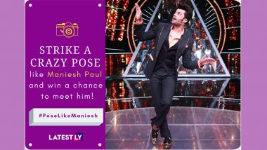 #PoseLikeManiesh And Win A Chance To Meet Maniesh Paul In Person! Get Set To Play The Fun Contest