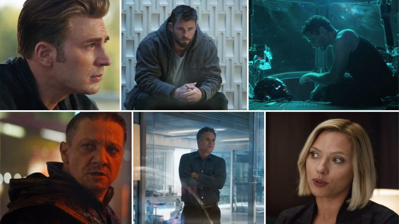 Avengers 4 aka Avengers Endgame Trailer: Marvel's Superheroes Battle Infinity War Blues Before They Regroup To Tackle Thanos - Watch Video