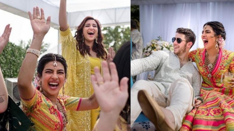 Priyanka Chopra's Husband Nick Jonas Gets a Warm Welcome From Her Sister Parineeti - See Pic