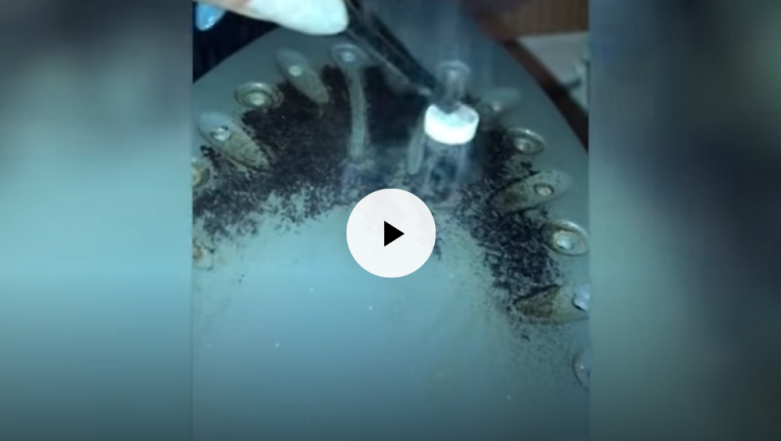 DIY Hack! Woman Uses Paracetamol Tablet to Clean Dirt From Iron Box (Watch Video)