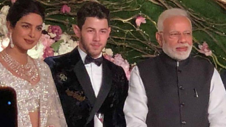 Priyanka Chopra & Nick Jonas' Wedding Reception: Prime Minister Narendra Modi Attends! View Pics