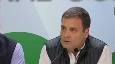 Rahul Gandhi Tests COVID-19 Positive, Congress Leader Ask People to Follow Coronavirus Guidelines