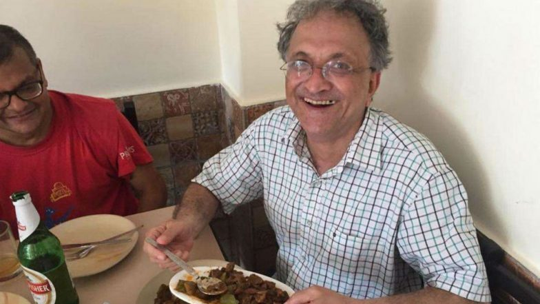Ramachandra Guha Shares Picture of His 'Beef Celebration' From Goa, Gets Roasted on Twitter with Life Threat! Police Deployed at Historian's House
