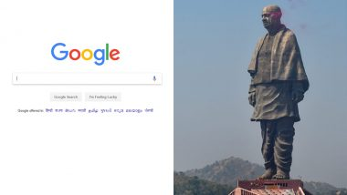 Google Year in Search 2018: Statue of Unity, Karnataka Election Results Among Top 5 Searched News Items in India