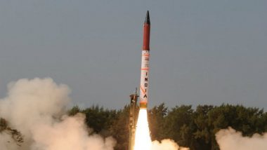 India Successfully Conducts First Night Trial of 2,000-KM Range Agni II Missile Off Odisha Coast
