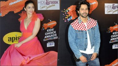Nickelodeon Kids' Choice Awards 2018 Winners List: Varun Dhawan and Alia Bhatt Win Favourite Actor Award