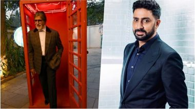 Dabboo Ratnani 2019 New Year Calendar: Bollywood Legend Amitabh Bachchan Looks Suave for the Photoshoot, Abhishek Bachchan Also Shares a BTS Video