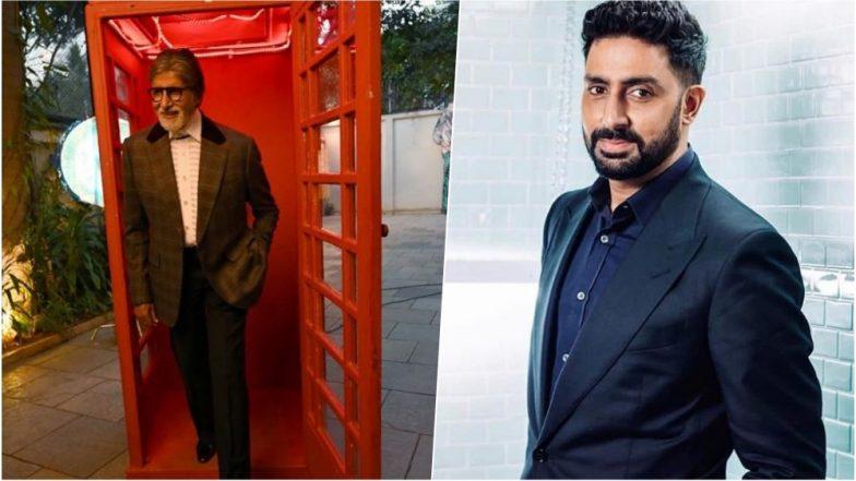 Dabboo Ratnani 2019 New Year Calendar: Bollywood Legend Amitabh Bachchan Looks Suave for the Photoshoot, Abhishek Bachchan Also Shares a BTS Video