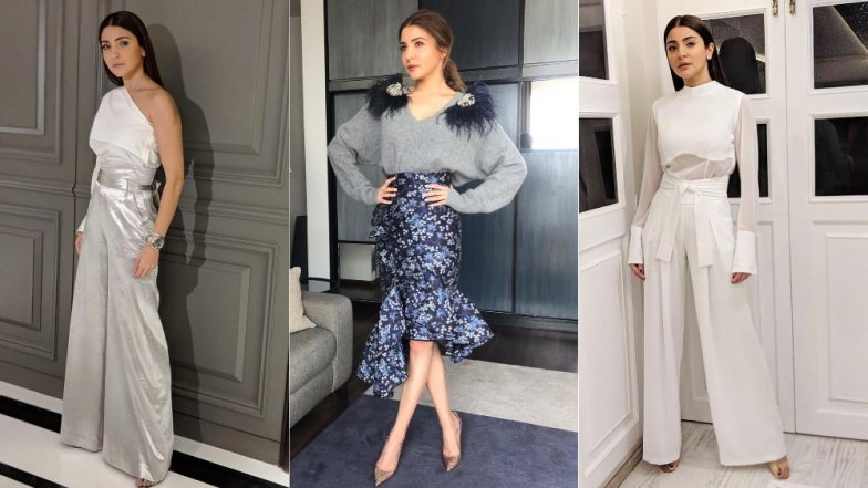Anushka Sharma's Sartorial Choices For Zero Promotions Is Nice But Not All That Exciting - View Pics