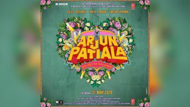Arjun Patiala: Dilkit Dosanjh, Kriti Sanon and Varun Sharma's Comedy Finds a Release Date; Check Out New Poster!