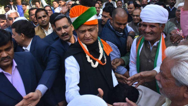 Ashok Gehlot to be Next Chief Minister of Rajasthan, Say Sources; Rahul Gandhi Picks Veteran Over Sachin Pilot