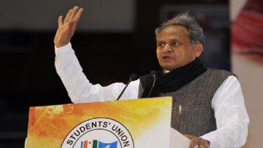 Rajasthan CM Ashok Gehlot to Personally Meet SPs, IGs Tomorrow