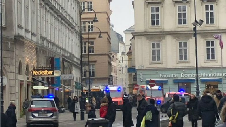 Vienna Shooting: Manhunt Underway After Two People Shot in Austria