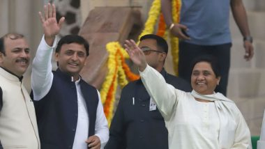 Lok Sabha Elections 2019: SP-BSP-RLD Alliance to Begin Joint Campaign with Rally in Uttar Pradesh