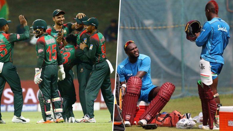 Bangladesh vs West Indies ODI Series 2018 Schedule: Time, Venue and Full Squad Details of BAN vs WI ODI-Leg