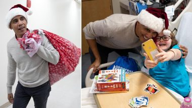 Barack Obama Becomes Santa Claus For Children's Hospital in Washington, Watch Video and Pics of Former US President