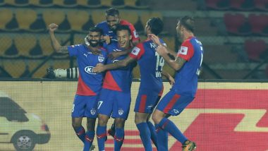 CFC vs BFC ISL 2019 Match Result: Bengaluru Beat Chennaiyin FC 3-0 to Record First Win of Indian Super League Season 6