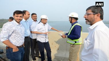 Ailing Goa CM Manohar Parrikar Makes Rare Public Appearance, Inspects 2 Under-Construction Bridges