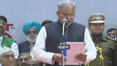Bhupesh Baghel Takes Oath as Chhattisgarh Chief Minister; Profile of Congressman Who Replaces 15 Years of Raman Raj