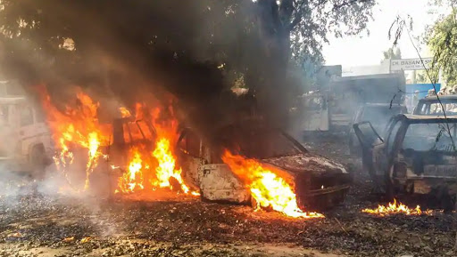 Bulandshahr Mob Violence: Bajrang Dal Leader Yogesh Raj Main Accused; VHP's Upendra Raghav, BJYM's Shikhar Agarwal Named in FIR Too