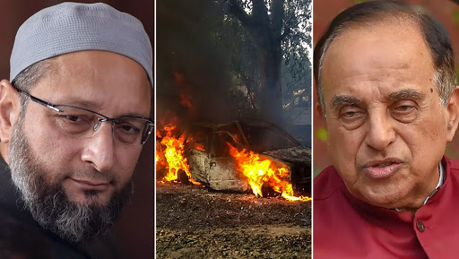 Bulandshahr Mob Violence: 'Jungle Raj' in UP, Says AIMIM Chief Asaduddin Owaisi; Subramanian Swamy Sees Congress Role