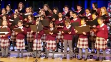 Canadian Children Sing 'Om Jai Jagdish' Aarti During Christmas Concert, Video Shows World is One Family