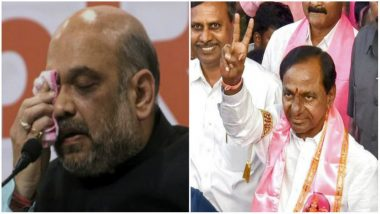 Telangana Assembly Elections 2018 Results: Amit Shah Congratulates K Chandrashekar Rao for Emphatic Victory