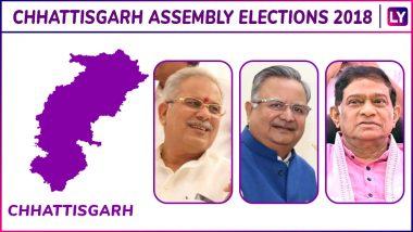 Jaijaipur, Pamgarh, Saraipali, Basna, Khallari, Mahasamund Elections Results Live News Updates: Vinod Sevan Lal Chandrakar of Congress is Leading on Mahasamund Assembly Seat in Chhattisgarh