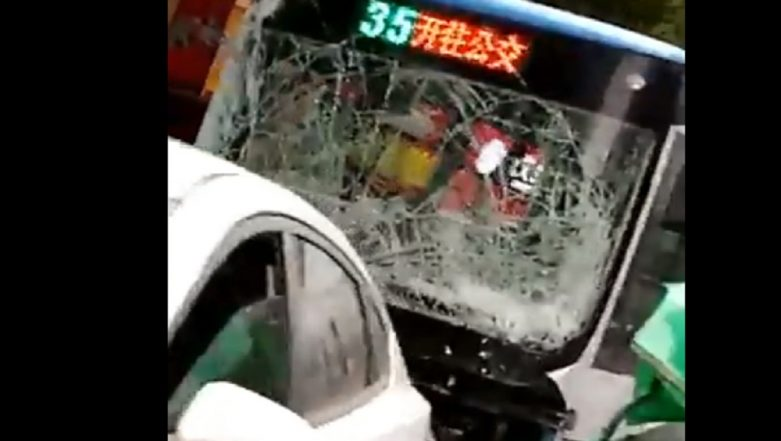 China Bus Hijacking: Man Drives Vehicle Into Crowd in Longyan City, 5 Killed and 21 Injured