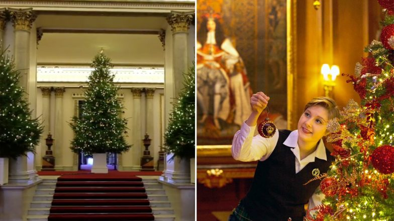 Christmas 2018 Celebrations at Buckingham Palace: Watch Videos and Pictures of Royal Family Residence Getting Ready For The Festive Season