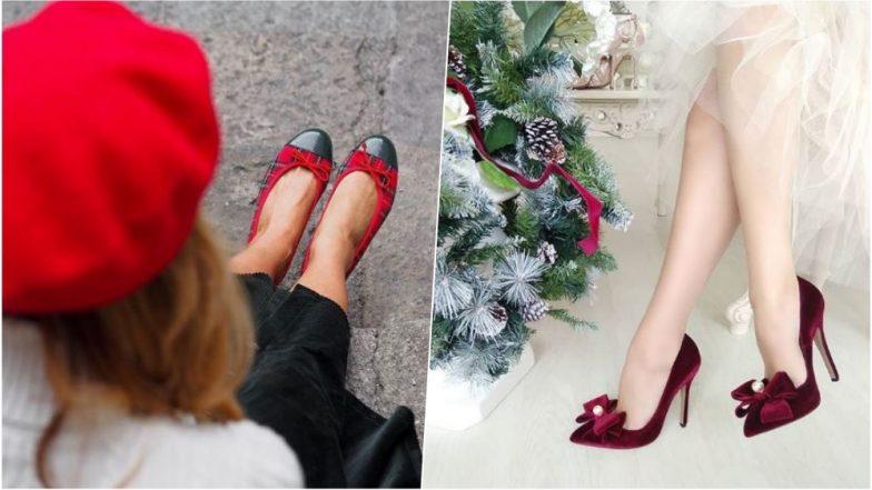 Christmas 2018 Footwear Styles Reinvent Your Little Black Dress