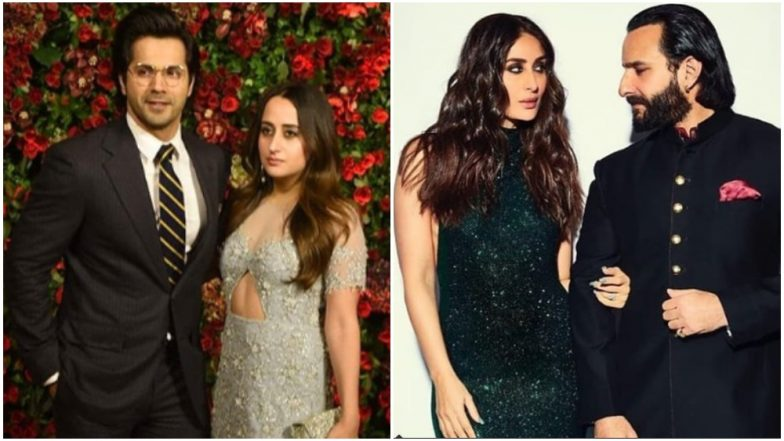 Deepika Padukone – Ranveer Singh Reception: From Varun - Natasha to Kareena - Saif, Let's Have a Look at Couples Who Attended This Gala Evening