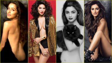 Dabboo Ratnani's Hottest Calendar Girls: Disha Patani, Sunny Leone, Alia Bhatt, Shraddha Kapoor & Others Pose Topless for Hot & Sexy Photos!
