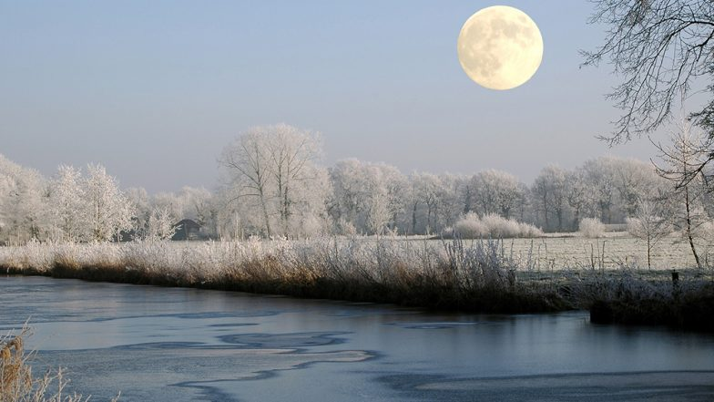 December Cold Moon: Moonrise Timings and Reason Why Full Moon Will be Brighter From The First Day of Winter