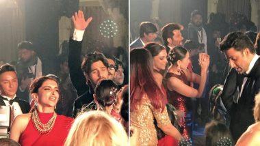 Deepika Padukone and Aishwarya Rai Bachchan Go Mad on the Dance Floor When DJ Plays 'Ishq Tera Tadpave' (Watch Video)