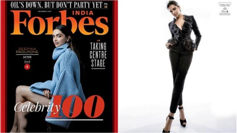 Deepika Padukone Ranks 4th on 2018 Forbes India Celebrity 100 List! The Actress Makes a Stylish Statement in an Over-Sized Sweater from Chloe - See Pics