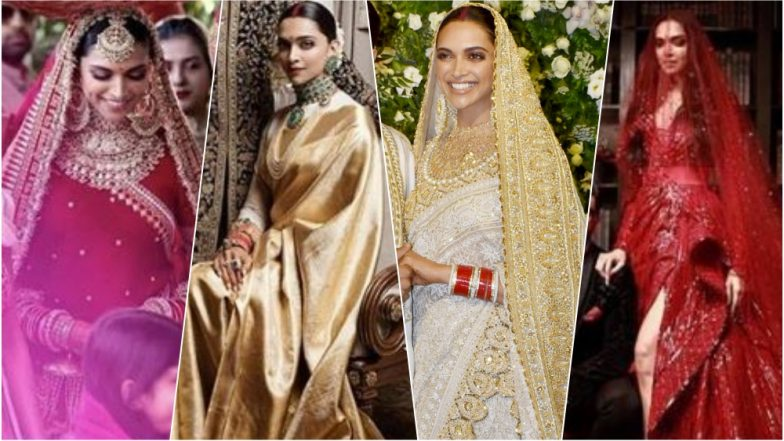 Deepika Padukone's Complete Wedding Lookbook: From ...