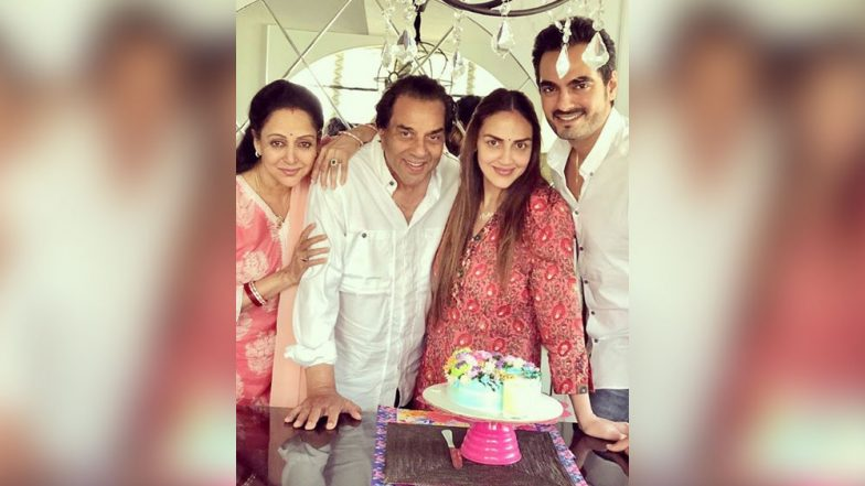 Hema Malini Shares a Heartfelt Message as Dharmendra Turns 83