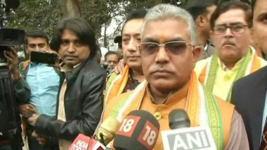 Aadhaar, PAN Cards Not Proof of Indian Citizenship, Says West Bengal BJP Chief Dilip Ghosh