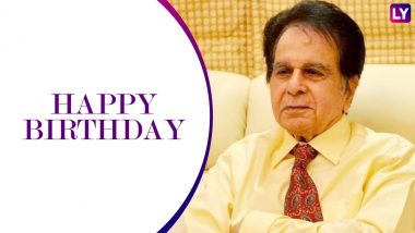 Dilip Kumar Turns 96: Veteran Actor to Celebrate Birthday With Wife Saira Banu and Close Friends, Family