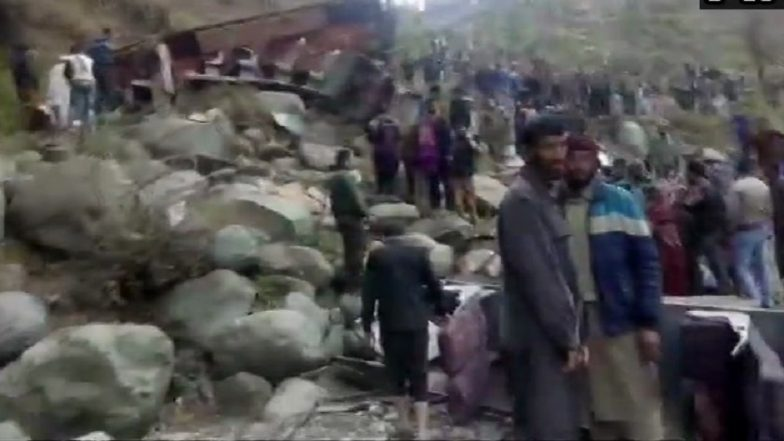 Bus Skids and Falls into Deep Gorge in Plera Area of Poonch District in Jammu and Kashmir, 13 Dead