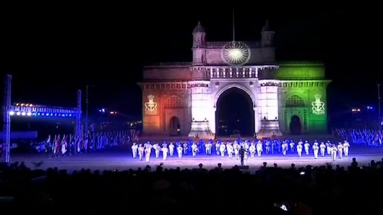 Navy Day 2018: Indian Navy Rehearses For 'Beating The Retreat' in Mumbai, Watch Video