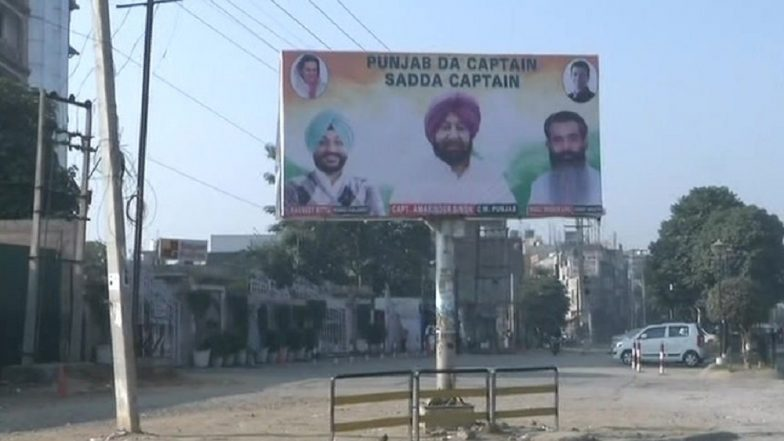 Navjot Singh Sidhu Faces Criticism For Mocking Captain Amarinder Singh; Posters Reading 'Punjab's Captain is Our Captain' Seen in Ludhiana