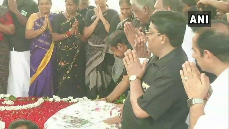 AIADMK's Silent Procession on Jayalalithaa Death Anniversary