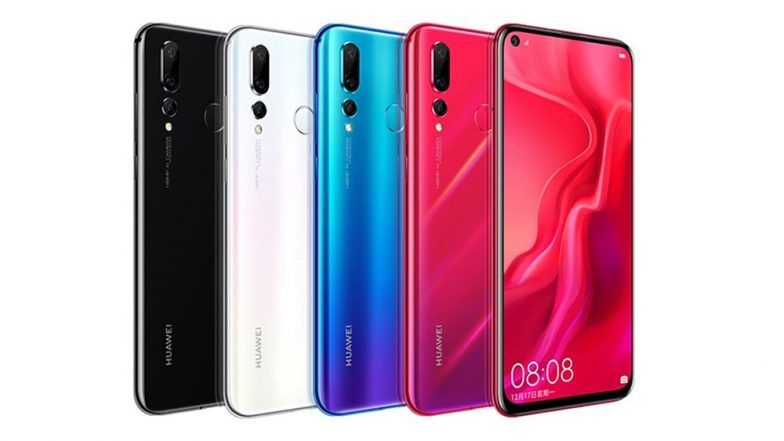 Huawei unveils its 48-megapixel Nova 4, complete with hole-punch display