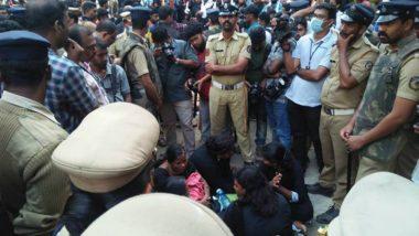 11 Tamil Women Devotees Fail to Have Sabarimala Darshan; Protesters in Custody, BJP Demands Probe