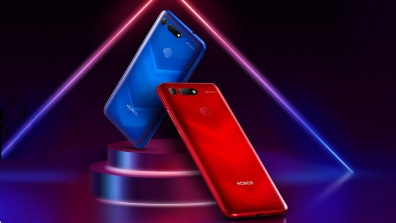 Honor V20 Smartphone With Punch Hole Display, 48MP Rear Camera, Kirin 980 SoC Launched in China; Prices, India Launch Date & Specifications